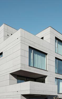 Bottega Erhardt arch. Residence in Stuttgart. EQUITONE facade panels. equitone.com