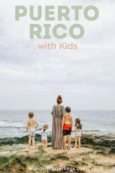 Puerto Rico with kids - Wandering Darlings Family Road Trips, Road Trip Usa, Travel With Kids, Family Travel, Family World, San Juan Puerto Rico, Family Resorts, Caribbean Vacations, Travel Destinations