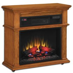 Duraflame W Vintage Mahogany Wood Media Console Electric Fireplace with Thermostat and Remote Control Duraflame Electric Fireplace, Dimplex Electric Fireplace, Electric Fireplace Heater, Double Sided Electric Fireplace, Black Electric Fireplace, Fireplace Tv Stand, Fireplace Inserts, Faux Fireplace, Infrared Fireplace