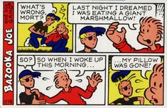 Bazooka bubble gum axes Bazooka Joe comics after 59 years Robot 6 @ Comic Book Resources - Robot 6 @ Comic Book Resources Bazooka Bubble Gum, I Remember When, Time Capsule, The Good Old Days, Comic Strips, In This World, Childhood Memories, Growing Up, Avon