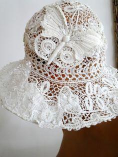 Buyer & Seller of Antique Lace, Fine Linens, Vintage Clothing, Haute Couture, Textiles, Fans: Ladies Accessories: Hats