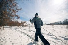 Michigan cross country skiing trails stretch over 3,000 miles and the Michigan Department of Natural Resources grooms various state forest pathways to provide trails across the northern Lower and Upper Peninsulas. Here's a list to get you started.