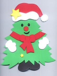 tutos de noel – Page 4 Christmas Arts And Crafts, Felt Christmas Decorations, Christmas Projects, Kids Christmas, Holiday Crafts, Homemade Christmas, Christmas Cards, Christmas Ornaments, Theme Noel
