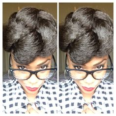 I love rocking this style! Protective styles for natural hair!