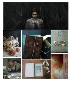 """Treasures"" by pheinart ❤ liked on Polyvore featuring art and etsyfresh"