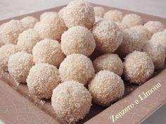 PALLINE al COCCO - dolcetti