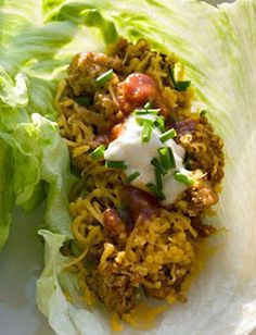 Wraps van sla met kalkoenvulling ♥ Foodness - good food, top products, great health