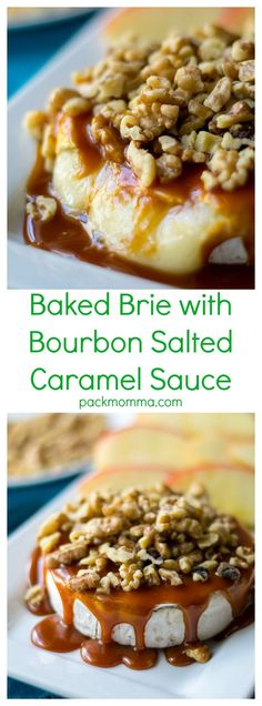Baked Brie with Bour
