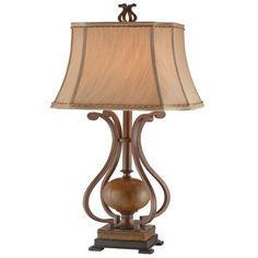 Copperfield Metal Scroll Table Lamp | Overstock.com Shopping - The Best Deals on Desk Lamps