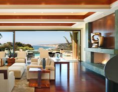 Hill Construction Company San Diego Custom Home La Jolla Ca Entrancing La Jolla Living Room Decorating Design