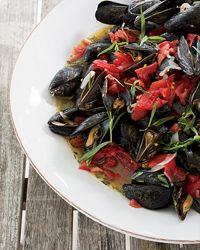 Steamed Mussels with Tarragon | Food & Wine.
