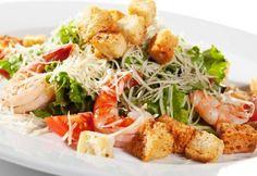 Caesar Prawn Salad