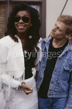 with Natalie Cole...