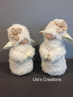 Sheep Crafts, Dyi Crafts, Cute Crafts, Fall Crafts, Easter Crafts, Girl Gnome, Gnome Hat, Christmas Gnome, Christmas Crafts