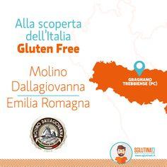 Alla scoperta dell'Italia Gluten Free Oggi siamo in Emilia-Romagna, precisamente a Gragnano Trebbiense in provincia di Piacenza!  Qui abbiamo scoperto Molino Dallagiovanna, produttore di farine e miscele di alta qualità!   #molinodallagiovanna #sglutinati #glutenfree #farinaglutenfree #noglutine #celiachia #senzaglutine   http://sglutinati.it/blog/cat/allascopertadellItaliaGlutenFree/post/allascopertadellitaliaglutenfreedallagiovanna/