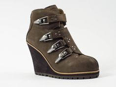 Ash Zoom Wedge Ankle Boots
