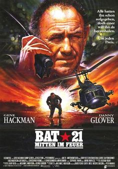 High Resolution / HD Movie Poster Image ( of for Bat 21 Film Movie, Hd Movies, Movies To Watch, Movies Online, Movies Showing, Movies And Tv Shows, Force Movie, Bitten, War Film
