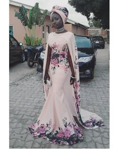 Munaluchi Bride - How stunning is this gown! African Attire, African Wear, African Fashion Dresses, African Dress, African Style, African Wedding Dress, African Design, Dress Fashion, Black Women Fashion