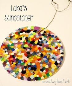 DIY Beaded Sun Catchers