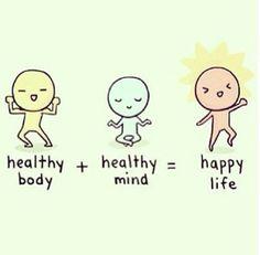 Healthy = happy