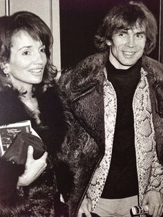 Lee Radziwill and Rudolf Nureyev at the Candide opening in New York. Photo by Ron Galella, 1974.