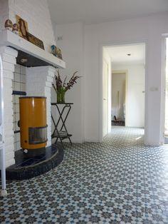 Cement tiles Living Room- Azule 01 Maroc - Project van Designtegels.nl