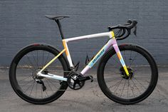 A collection of beautiful bicycles. Share and discover with a community of enthusiasts Paint Bike, Bicycle Painting, Specialized Road Bikes, Cycling Bikes, Road Cycling, Titanium Road Bike, Bicycle Types, Push Bikes, Trek Bikes