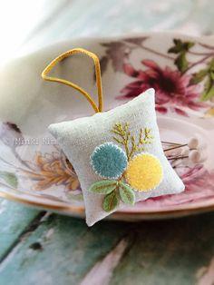 Handmade Felt Pincushions