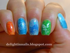 Delight In Nails: The Four Elements