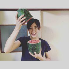 スイカの皮を使って 親の知恵も使って #きんぴら と#漬物 と#酢の物... #Team8 #AKB48 #Instagram #InstaUpdate