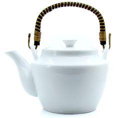 RYOKAN - Théière en porcelaine  - 9 tasses