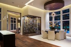 Create a custom Glass Wine Cellar in your home. The Glass Shoppe is your source, from Glass Wine Cellar doors, to racking and wall coverings, we do it all!
