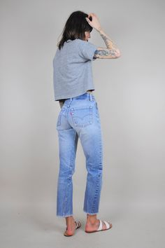 Take a look at the best what to wear with vintage high waisted jeans in the photos below and get ideas for your outfits! Vintage High Waist Stone Washed Levi's 512 Jeans – Medium Blue… CAD) ❤… Continue Reading → Vintage Jeans, Jean Vintage, Vintage High Waisted Jeans, Levis High Waisted Jeans, Jeans Levi's, Mode Jeans, Look Jean, Design Textile, Estilo Denim