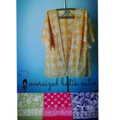 Color up your outfit with ytopuss batik kimo outer