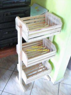 Como hacer muebles con cajones de verduras youtube - Carrito frutero ikea ...
