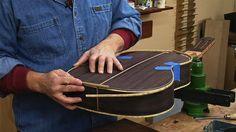 Classical Guitar Building Downloadable Video Seq 9 - Bindings & Purflings - JS Bogdanovich Guitars