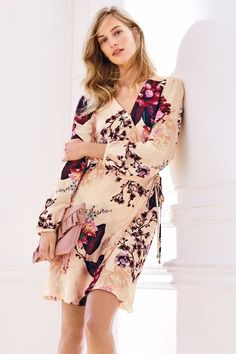 0ebe6add5f BNWT NEXT SZ 10 BEAUTIFUL FLORAL PRINT WRAP DRESS RRP 68 NEW WITH TAGS   fashion  clothing  shoes  accessories  womensclothing  dresses (ebay link)