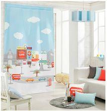 Vendido por 1 peça / largura 135 cm x altura 230 cm / sweet home / alta qualidade 3D impresso cortinas / porta separador wp117 # 30(China (Mainland))