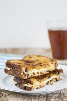 Krentenbrood tosti - Season with love