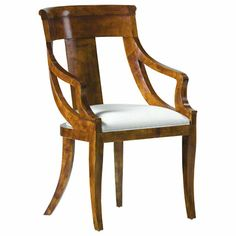 Baker Furniture : Palladian Arm Chair - 8549 : Collector's Edition : Browse Products