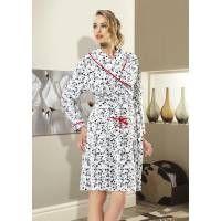 Gümüş 9354 Polar Sabahlık; Kenarları kırmızı biyeli ve torba cepli sabahlık dalmaçya desenli ve torba cepli olup canlı renkleri ile teninize uyum sağlayacak zarif ve modern görünüme sahiptir. Dresses With Sleeves, Long Sleeve, Modern, Fashion, Moda, Trendy Tree, Sleeve Dresses, Long Dress Patterns, Fashion Styles