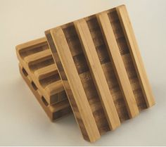 Bamboo Soap Dish with Tung Oil  Handmade by FlatlandersSoapCo, $15.00