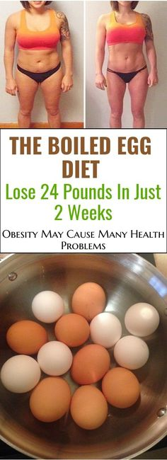 Boiled Egg Diet is becoming more and more popular because of its efficiency . It can actually help you lose up to 24 pounds in just 2 weeks. The white of the egg contains a lot of proteins and the yolk contains other essential nutrients, including minerals such as ...