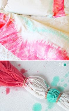 No summer is complete without some tie dye style. With help from Swellmayde, Design Love Fest and Sweet Paul, you could get your dip dyes tie dyes near perfection. And for perfection, shop our tie dye scarves here, here here and dip dye pillows here. 1 / 2 / 3 / 4 / 5 / 6 / 7 / 8 / 9 / 10