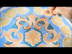 Pintura em cerâmica - Pottery painting - Ceramic Decoration: valeriato@hotmail.com - YouTube