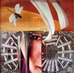 Honička koláž 50 x 50 cm author Jana Černochová Collage, Author, Inspiration, Art, Biblical Inspiration, Art Background, Collages, Kunst, Writers
