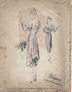 1940s Vintage VOGUE Sewing Pattern.jpg