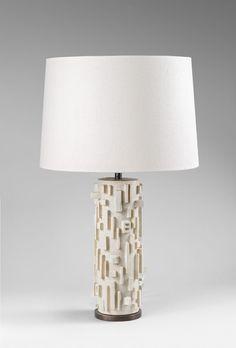 Interior Lighting, Lighting Design, Ceramic Light, Ceramic Lamps, Contemporary Ceramics, Dry Clay, Interior And Exterior, Exterior Homes, Lampshades