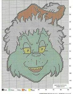 THE GRINCH WHO STOLE CHRISTMAS by SORAM INFO SYSTEMS - WALL HANGING