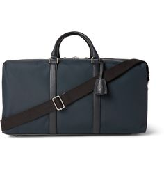 <a href='http://www.mrporter.com/mens/Designers/Mulberry'>Mulberry</a>'s holdall is certain to make a smart travelling companion. This medium-sized design is made from durable canvas and opens to reveal a spacious interior. Leather top handles and feet are practical features, while the main compartment is fastened with a two-way zip and can expand at the side when you need to pack a little more. Secure your belongings for the road with the padlock and key.